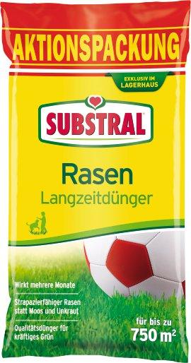 SUBSTRAL Langzeit-Rasendünger
