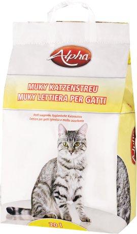 ALPHA Katzenstreu mit Pinienduft 20 l