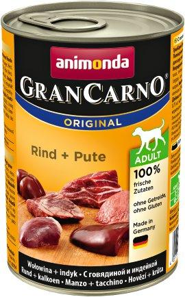 ANIMONDA Hundenahrung GranCarno Adult Rind+Pute