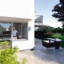 WINDHAGER Insektenschutz Rahmenfenster Weiß