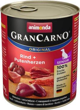 ANIMONDA GranCarno Senior Rind mit Putenherzen 800 g