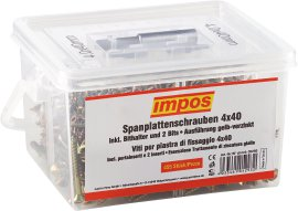 IMPOS Schraubenbox, Torx 40x4 mm, 455 Stk.