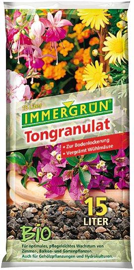 IMMERGRÜN Bio-Tongranulat 15 l