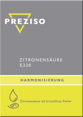 PREZISO Zitronensäure E330 - 1kg