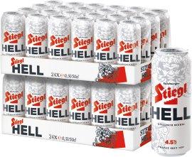 Stiegl Hell 48x0,5 l Dosenbier