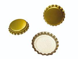 Kronenkorken Mini Gold