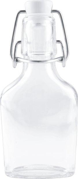 Flachmannflasche mit Bügelverschluss 100 ml