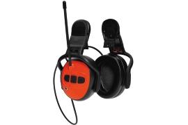 Husqvarna Gehörschutz mit UKW-Radio für Helm