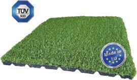 Kunstrasen-Fallschutzplatte 40x40x2,5 cm