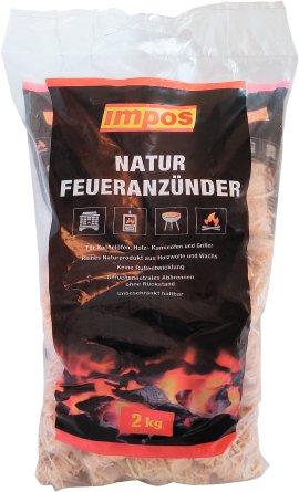 IMPOS Natur-Feueranzünder 2 kg