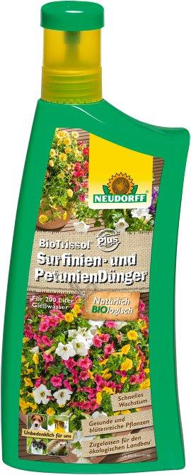 NEUDORFF Surfinien- und Petuniendünger BioTrissol Plus 1 l