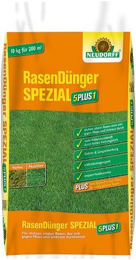 NEUDORFF Rasendünger Spezial 5 Plus 1