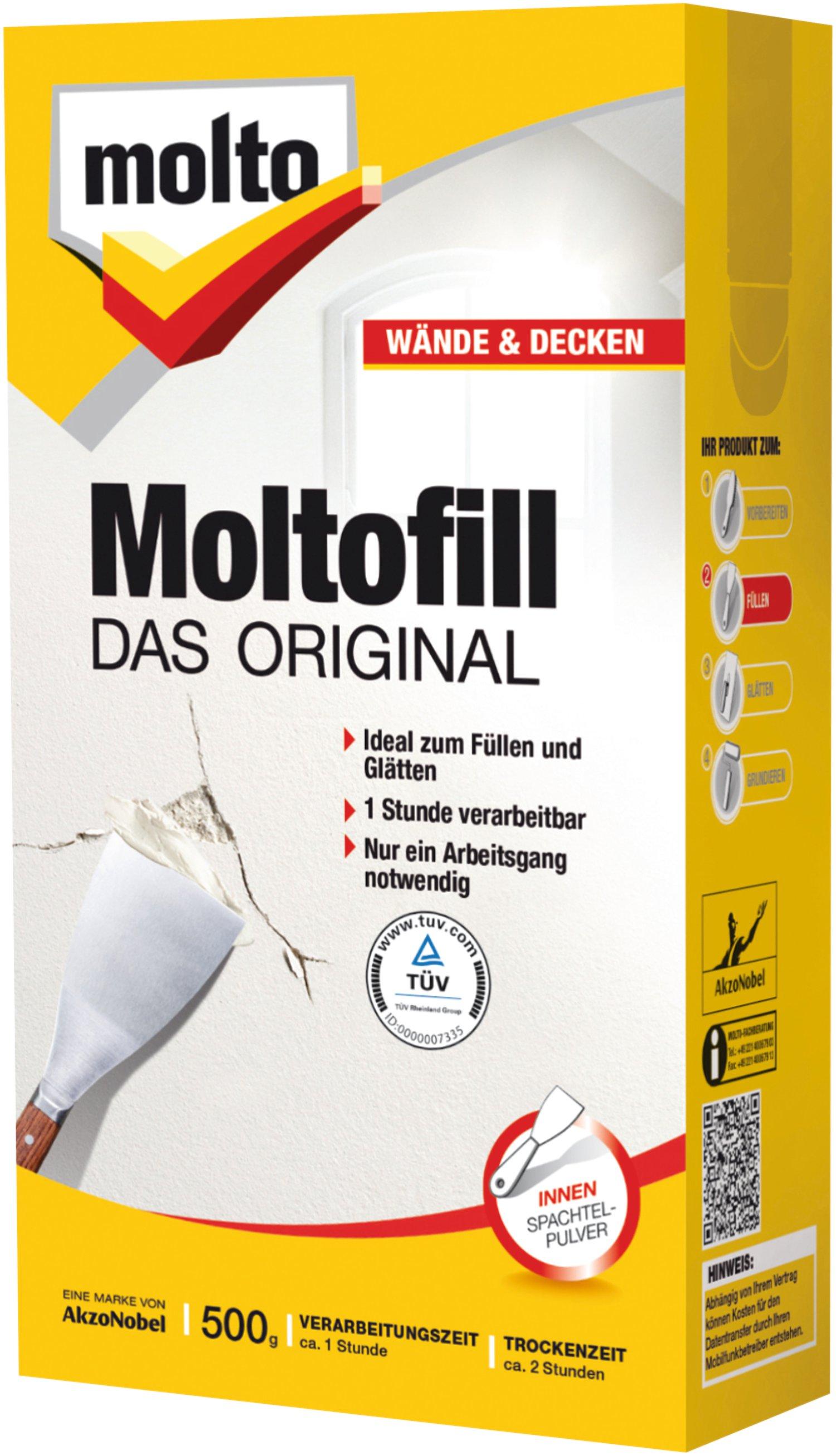 Moltofill Full Und Spachtel Masse 500 G Lagerhaus