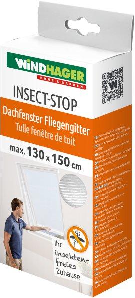 WINDHAGER Insektenschutz Fliegengitter Dachfenster