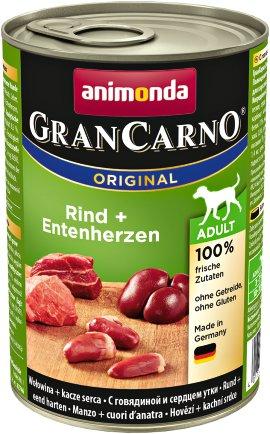 ANIMONDA Hundenahrung GranCarno Adult Pute+Ente