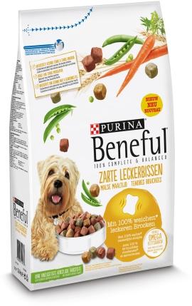 BENEFUL Hundenahrung Zarte Leckerbissen
