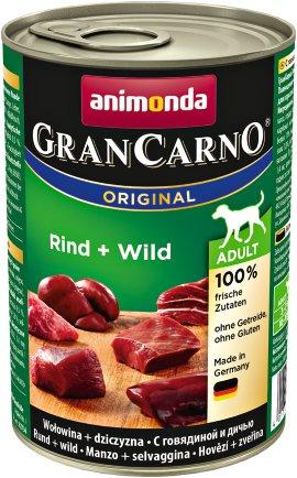 ANIMONDA Hundenahrung GranCarno Adult Rind+Wild
