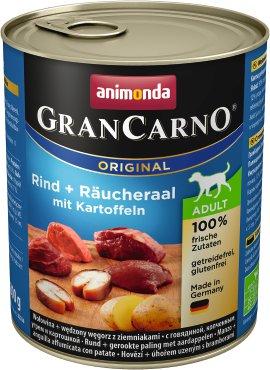 ANIMONDA Grancarno Adult Rind, Räucheraal und Kartoffel 800 g