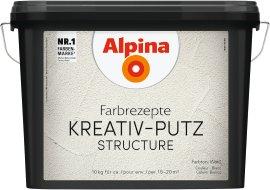ALPINA Farbrezepte Kreativputz 10 kg