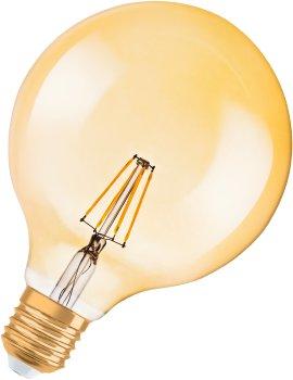 OSRAM LED-Globe VINT1906 FIL GD E27 4,5W