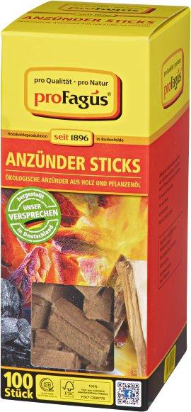 Grillanzünder-Sticks Flamis, 100er-Pack