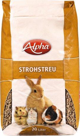 ALPHA Strohstreu 20 L