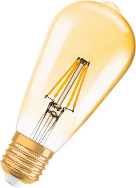 OSRAM LED-Birne VINT1906 FILAMENT E27 4W