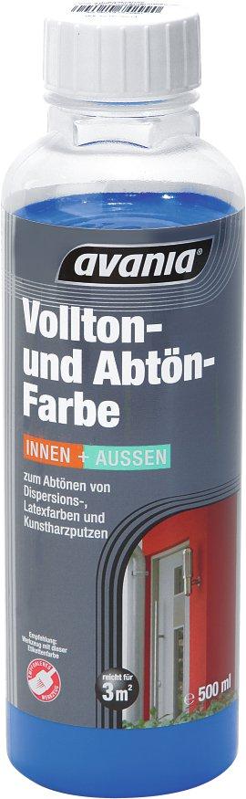 AVANIA Voll- und Abtönfarbe gelb 500 ml