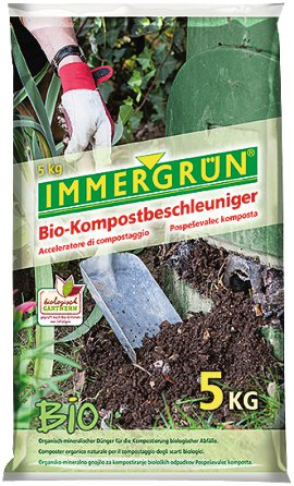 IMMERGRÜN Bio-Kompostbeschleuniger 5 kg