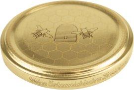 Ersatzdeckel Honigglas 10 Stück