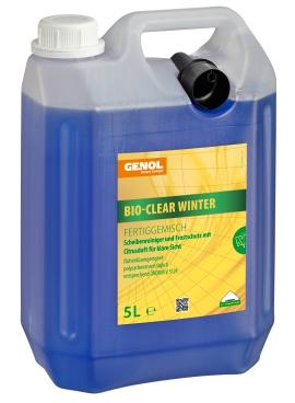 GENOL Bio-Clear Winter 5L, Scheibenreiniger Fertiggemisch