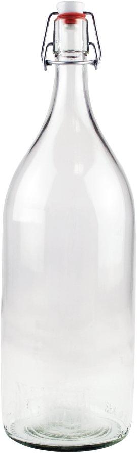 Mostflasche mit Bügelverschluss