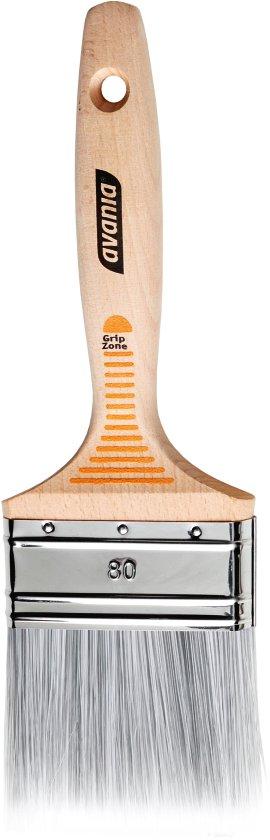 AVANIA Lackpinsel Uni-Star Grip FSC 80 mm