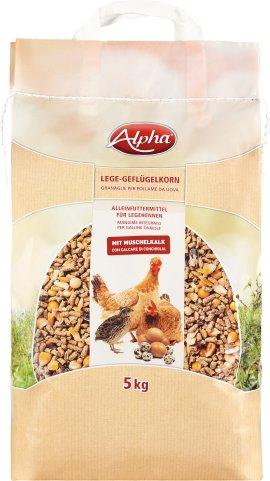 ALPHA Lege-Geflügelkorn 5 kg
