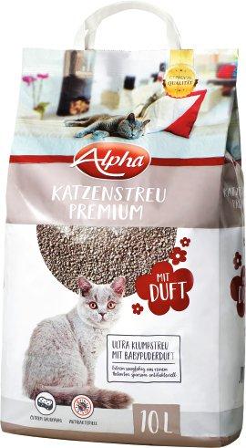 ALPHA Katzenstreu mit Duft 10 l