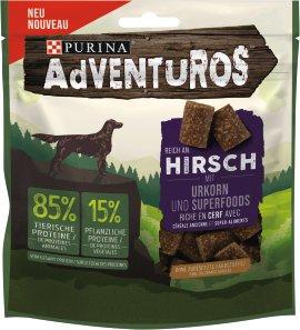 Adventuros  Hundesnack Urkorn Hirsch