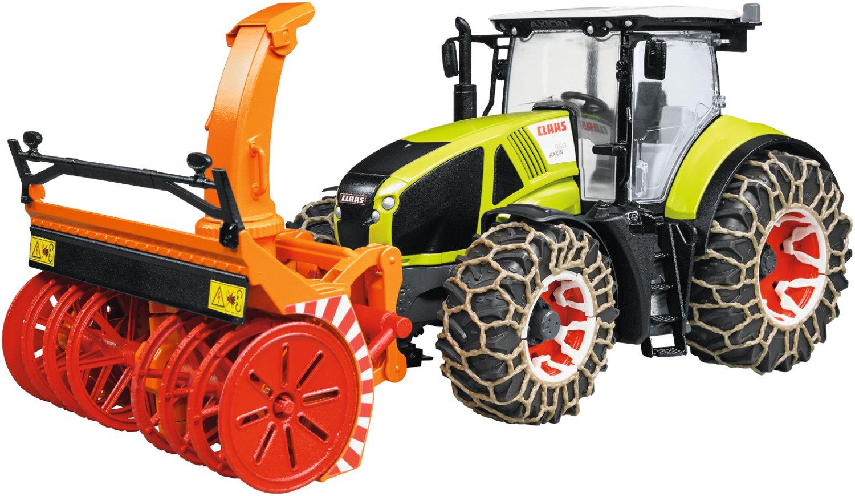 Bruder Traktor Claas Axion Lagerhaus