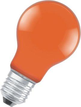 OSRAM LED-Birne STAR CLA DEC-orange E27 2,5W