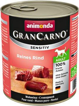 ANIMONDA Hundenahrung GranCarno Sensitiv Rind