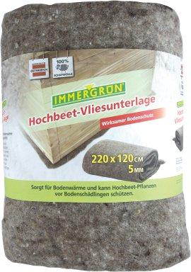 IMMERGRÜN Hochbeet-Vliesunterlage 220x120 cm