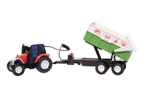 traktor mit anh nger lagerhaus. Black Bedroom Furniture Sets. Home Design Ideas