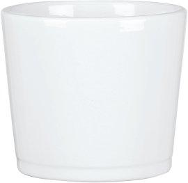 Keramikübertopf 883 Alaska Weiß
