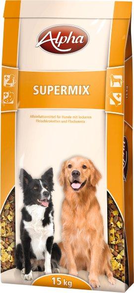 ALPHA Hundenahrung Supermix