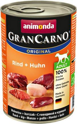 ANIMONDA Hundenahrung GranCarno Adult Rind+Huhn