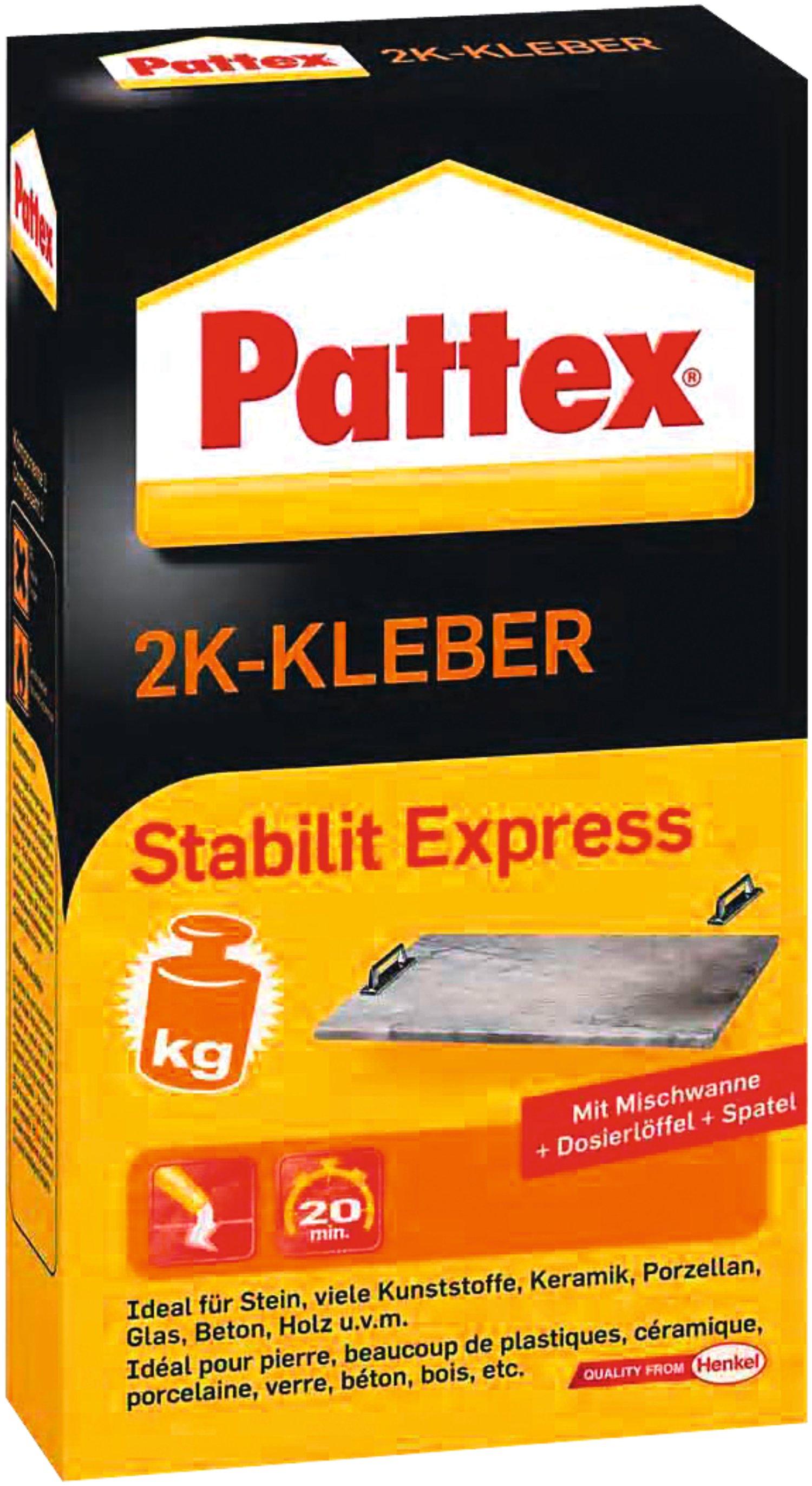 pattex 2k-kleber stabilit express   lagerhaus