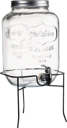 Getränkespender mit Metallständer 7,5 l