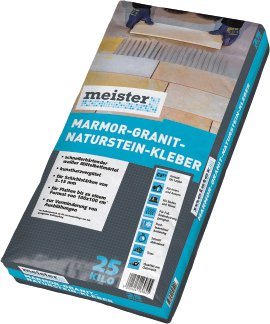 MEISTER Marmor-, Granit- & Natursteinkleber, 25 kg