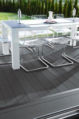 Terrassendeck WPC Titangrau