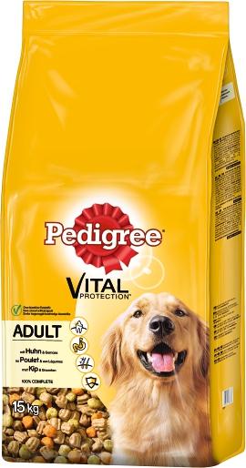 PEDIGREE Hundenahrung Adult Huhn und Gemüse 15 kg