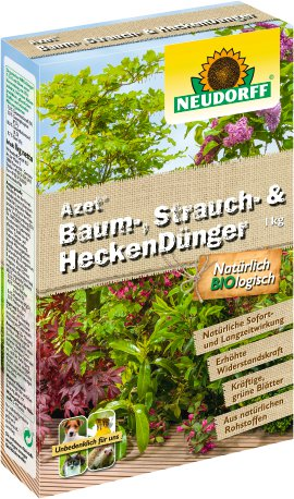 NEUDORFF Strauch- und Heckendünger Azet 1 kg